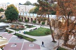 俄国 Kislovodsk Narzan画廊在手段公园在Kislovodsk 2016年10月12日 库存照片