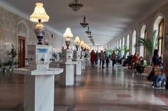 俄国 Kislovodsk Narzan画廊在手段公园在Kislovodsk 2016年10月12日 免版税库存照片