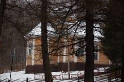 俄国 Marcial水 矿物春天 传道者彼得2017年11月17的教会日 免版税库存照片