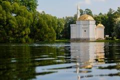 俄国 St彼得斯堡 Tsarskoe Selo,普希金 库存图片
