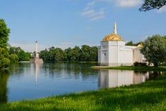 俄国 St彼得斯堡 Tsarskoe Selo,普希金 免版税库存照片