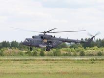 俄国MI-8直升机 库存照片