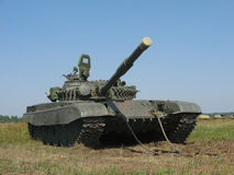 俄国T-72坦克 库存图片