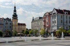俄斯拉发,捷克共和国 库存图片