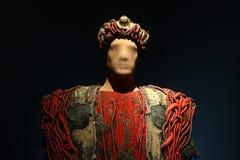 俄狄浦斯Sophoces戏剧性服装雅典希腊的国王 库存照片