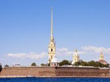 俄罗斯、圣彼德堡、彼得和保罗堡垒 免版税库存图片