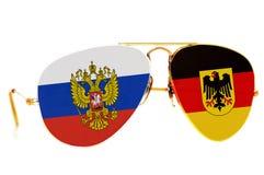 俄罗斯和德国 免版税库存图片