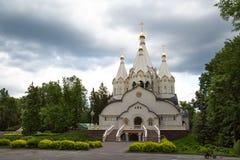 俄罗斯复活的新的受难者和忏悔者的教会在Butovo训练的 库存照片