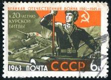 俄罗斯打印的邮票 免版税库存图片