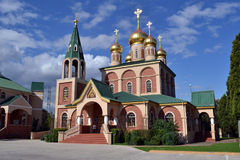 俄罗斯正教会在墨尔本 免版税库存图片