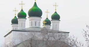 俄罗斯正教会在阿斯特拉罕克里姆林宫,俄罗斯 影视素材