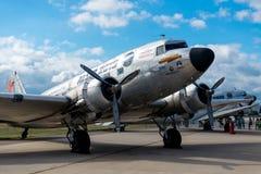 俄罗斯的军用飞机 库存照片
