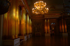 俄罗斯的圣彼德堡冬天宫殿  免版税库存照片