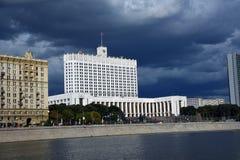 俄罗斯的政府大厦  免版税库存图片