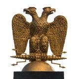俄罗斯的朝向的老鹰标志 库存照片