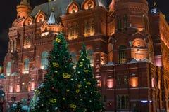 俄罗斯的状态历史博物馆红场的在莫斯科 库存照片