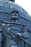 俄罗斯的纪念碑千年在Veliky诺夫哥罗德,俄罗斯 免版税库存图片