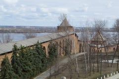 从俄罗斯的诺夫哥罗德克里姆林宫 免版税图库摄影