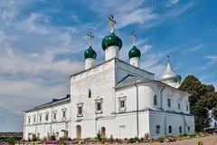 俄罗斯的金黄圆环的教会。 免版税图库摄影