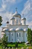 俄罗斯的金黄圆环的教会。 免版税库存图片