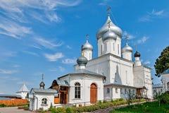 俄罗斯的金黄圆环的教会。 库存图片