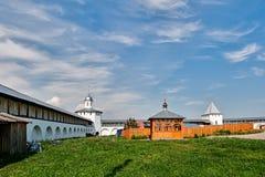 俄罗斯的金黄圆环的教会。 图库摄影