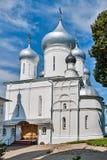 俄罗斯的金黄圆环的教会。 库存照片
