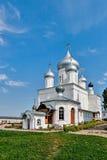 俄罗斯的金黄圆环的教会。 免版税库存照片