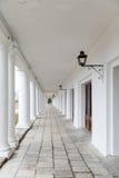 俄罗斯的金黄圆环的苏兹达尔 购物拱廊 免版税库存照片