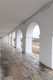 俄罗斯的金黄圆环的苏兹达尔 购物拱廊 库存图片
