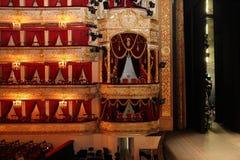 俄罗斯的Bolshoi剧院的剧院大厅 莫斯科 26 04 201 图库摄影