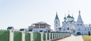 从俄罗斯的Pecherskiy修道院 免版税库存照片
