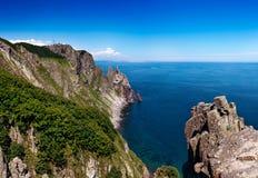 俄罗斯远东地区日本海 免版税图库摄影