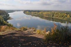 俄罗斯,乌法,自然,Belaya河 免版税库存照片