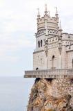 俄罗斯,克里米亚半岛半岛, swallow& x27; s巢 库存照片