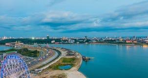俄罗斯,共和国鞑靼斯坦共和国,喀山,时间舔,平衡城市 影视素材
