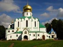 俄罗斯,圣彼德堡,年9月9日, 2017年,照片费多罗夫Gosudarev大教堂在秋天 免版税库存图片