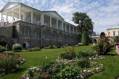 俄罗斯,圣彼德堡, 6月, 18,2018 在照片喀麦隆画廊在普希金Tsarskoe Selo 免版税库存照片