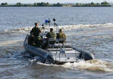 俄罗斯,圣彼德堡, 2015年7月15日 军事海军训练 n 库存图片