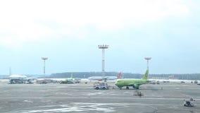 俄罗斯,莫斯科苏航机场03 03 17