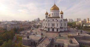 俄罗斯,莫斯科,基督大教堂救主, 10月 影视素材