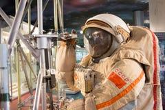俄罗斯,莫斯科,宇宙航行学博物馆  免版税库存照片