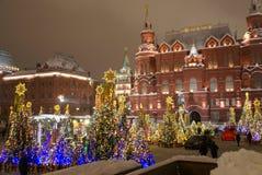 俄罗斯,莫斯科,红场的历史博物馆 免版税库存照片