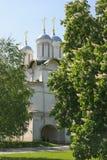 俄罗斯,莫斯科, 2011年5月23日-克里姆林宫, Twe的教会 库存照片