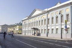 俄罗斯,莫斯科, Sretenka街 免版税库存图片
