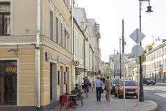 俄罗斯,莫斯科, Sretenka街 库存图片