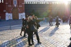 03/26/2016俄罗斯,莫斯科 一系列 库存照片