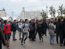 俄罗斯,莫斯科- 2017年6月12日 免版税图库摄影