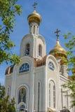 俄罗斯,顿河畔罗斯托夫 圣迪米特里,城市居民教会  库存照片