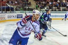 俄罗斯, 9月10日:Ilya Kovalchuk。 库存图片